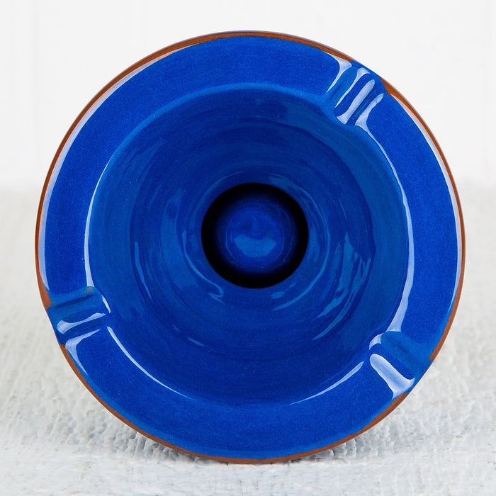 Handmade Blue Ashtray (Large)