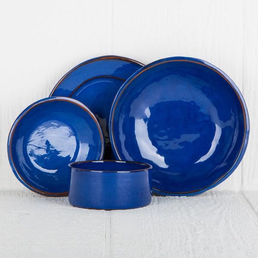 Handmade Blue French Dinnerware