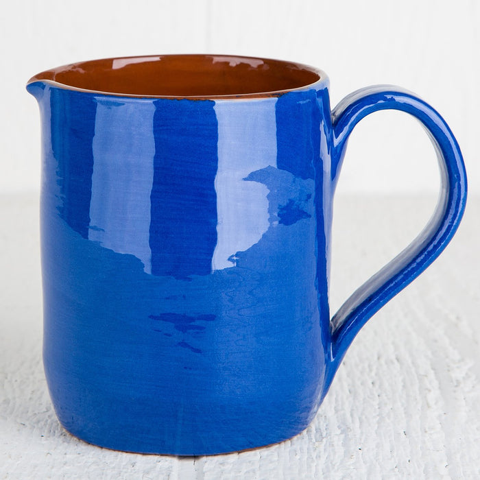 Handmade Blue Pitcher (Medium)