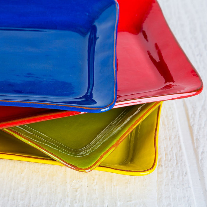 Handmade French Rectangle Serving Dishes