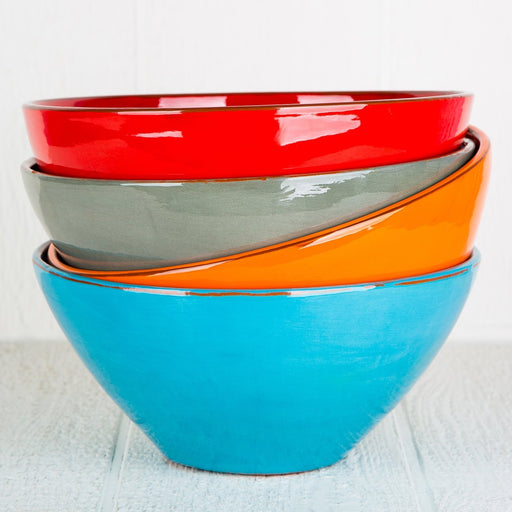 Handmade French Salad Bowls (Large)