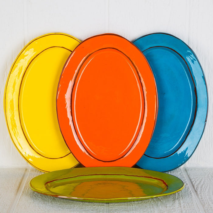 Handmade French Serving Platters
