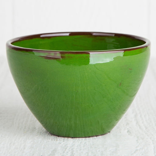 Handmade Green Cereal Bowl
