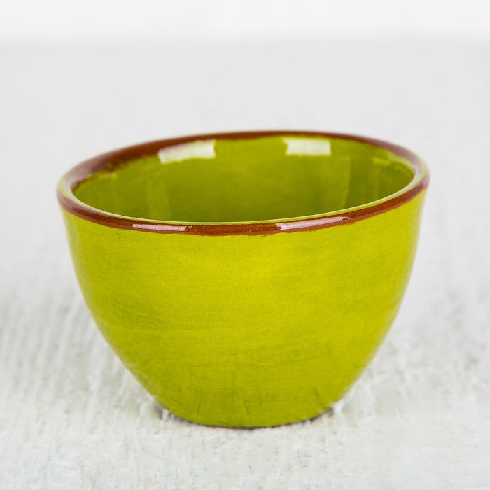 Handmade Green Choco Bowl (Small)