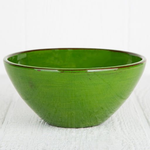 Handmade Green Salad Bowl
