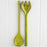 Handmade Green Salad Servers