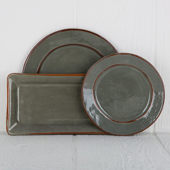 Handmade Grey French Dinnerware