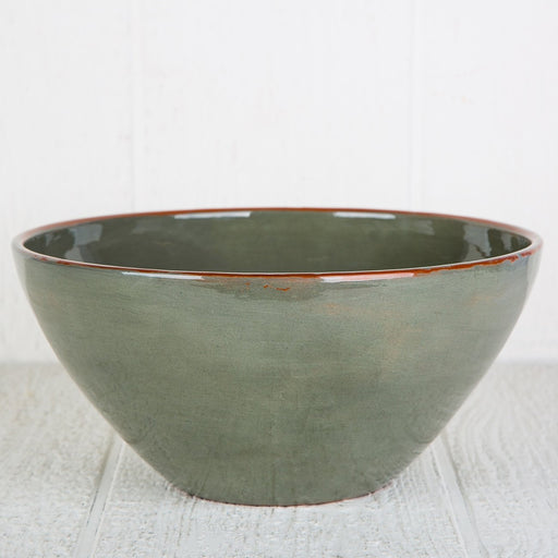 Handmade Grey Salad Bowl