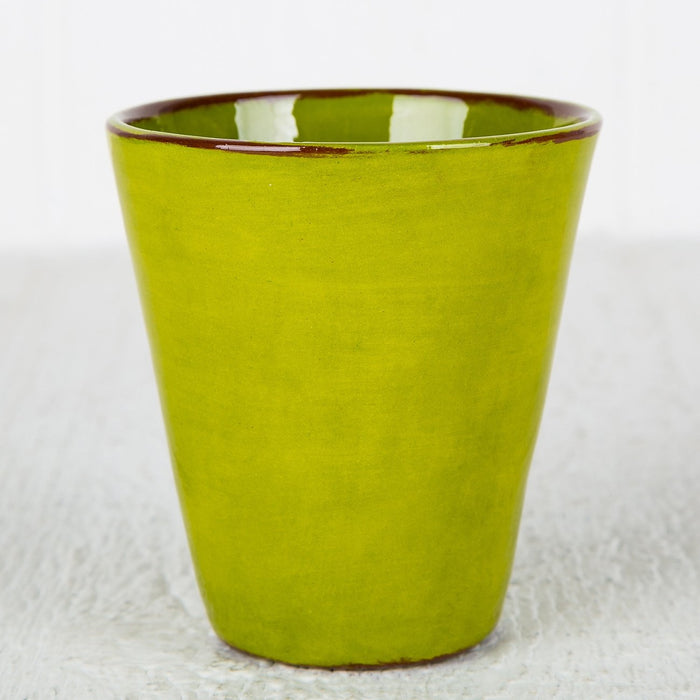 Handmade Light Green Coffee Cup (Large)