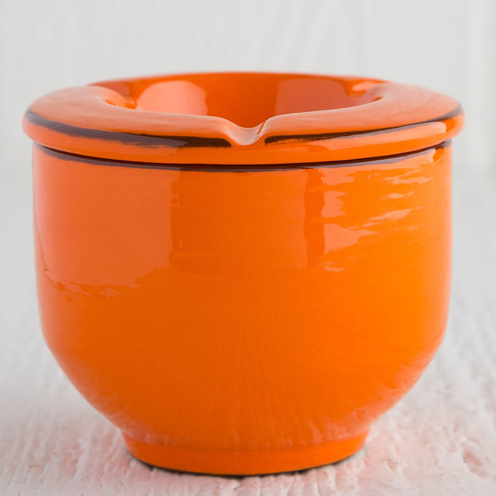 Handmade Orange Ashtray