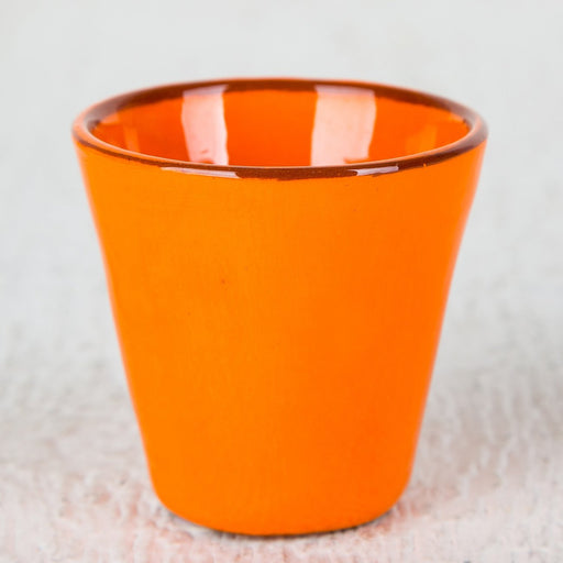 Handmade Orange Coffee Cup (Small)