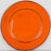 Handmade Orange French Dinnerware