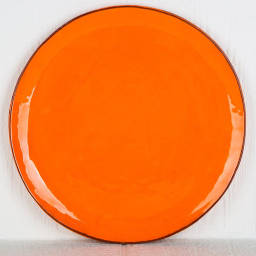Handmade Orange Pie Plate