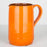 Handmade Orange Pitcher (Large)