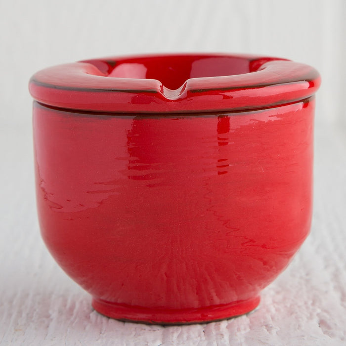 Handmade Red Ashtray