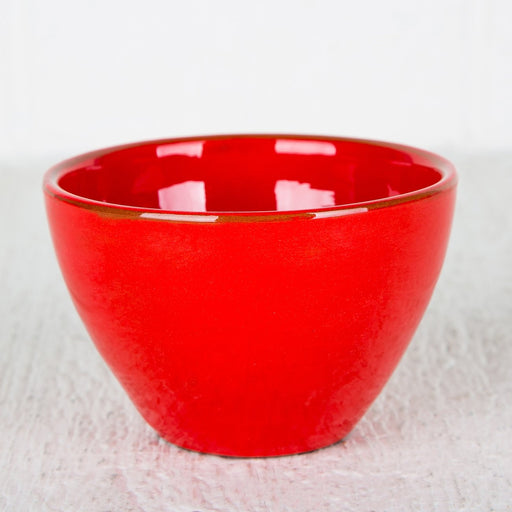 Handmade Red Choco Bowl (Medium)