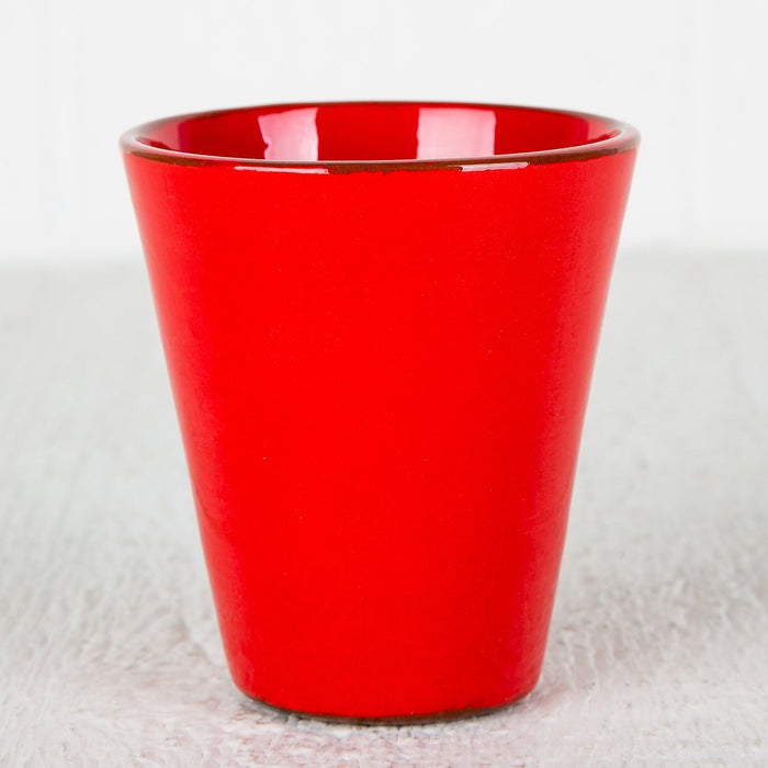 Handmade Red Coffee Cup (Large)