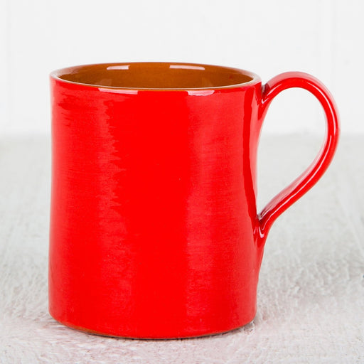 Handmade Red Coffee Mug