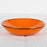 Handmade Shallow Orange Bowl