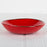 Handmade Shallow Red Bowl
