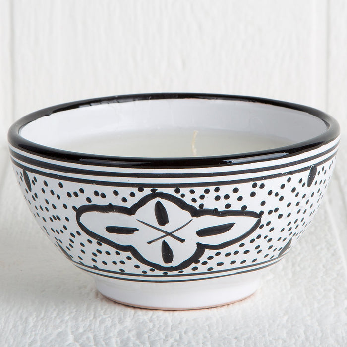 Handmade Tunisian Candle (Black)