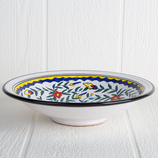Handmade Tunisian Serving Bowl (Black)