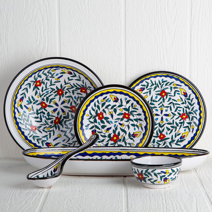 Handmade Tunisian Serving Platter (Black)