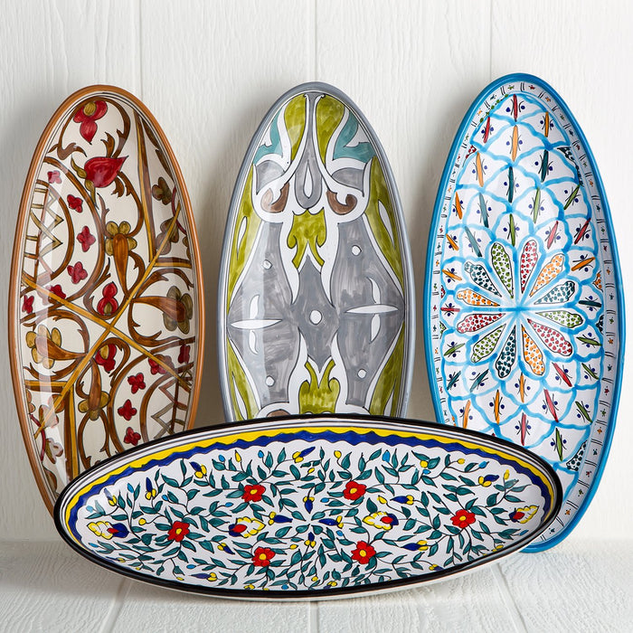 Handmade Tunisian Serving Platters