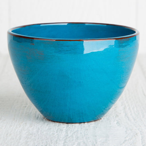 Handmade Turquoise Cereal Bowl