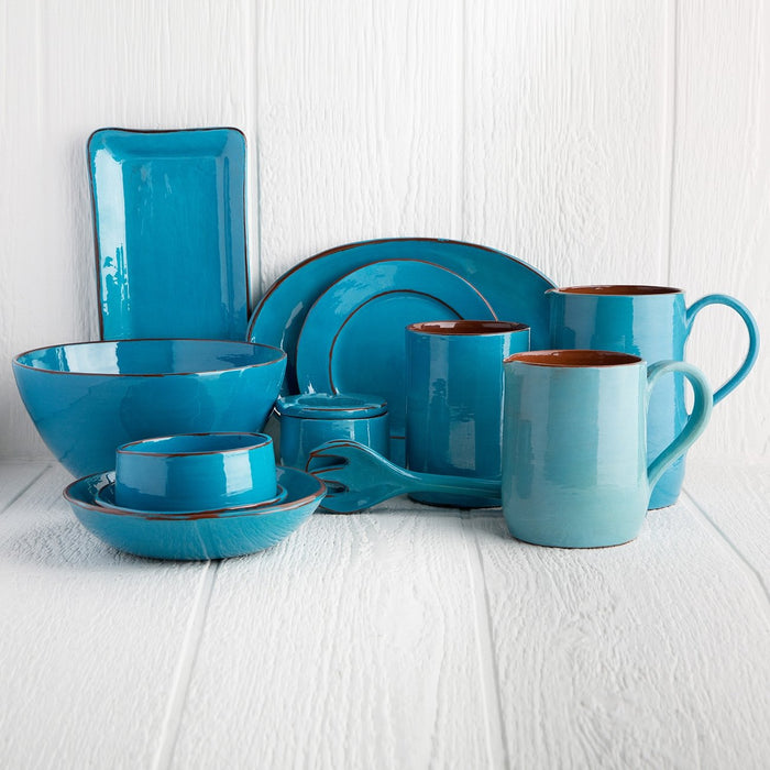 Handmade Turquoise Coffee Cup (Medium)