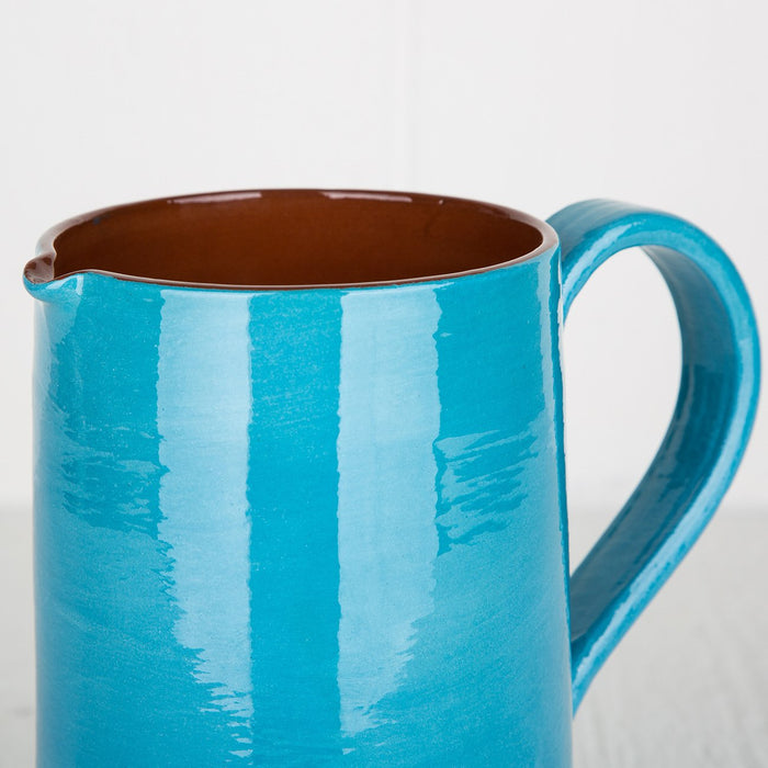 Handmade Turquoise Pitcher (Large)