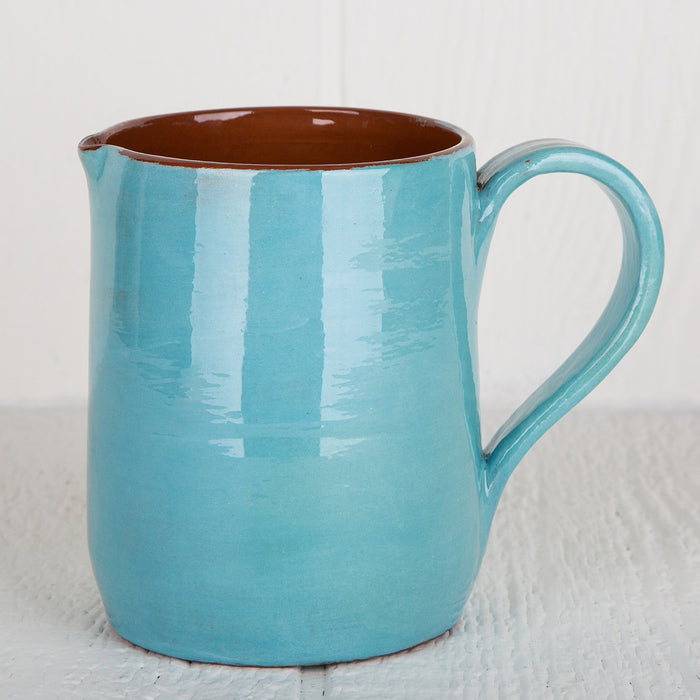 Handmade Turquoise Pitcher (Medium)