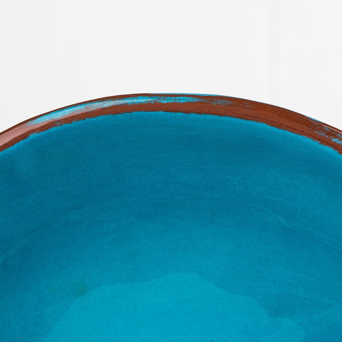 Handmade Turquoise Soup Bowl