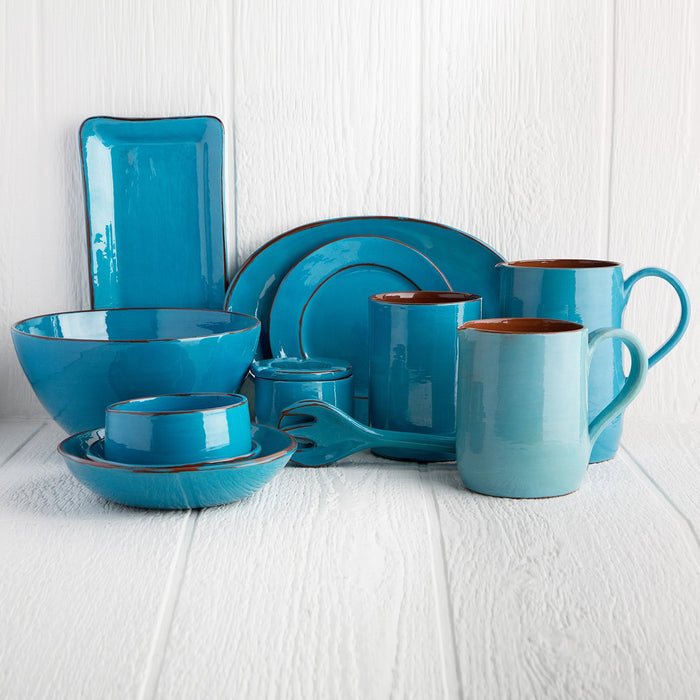 Handmade Turquoise Utensil Holder