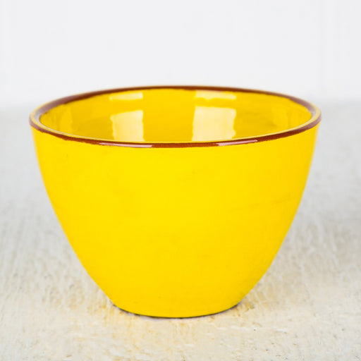 Handmade Yellow Choco Bowl (Medium)
