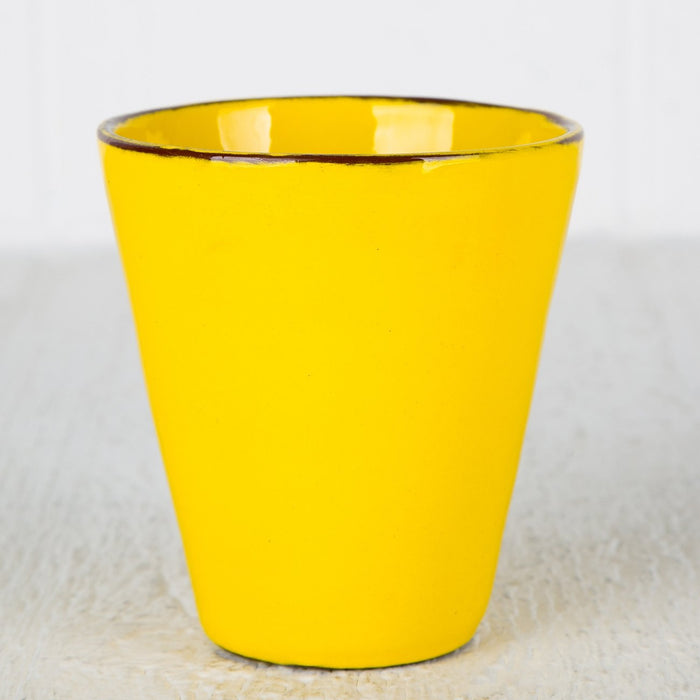 Handmade Yellow Coffee Cup (Large)