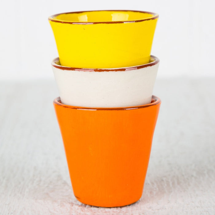 Handmade Yellow Coffee Cup (Small)