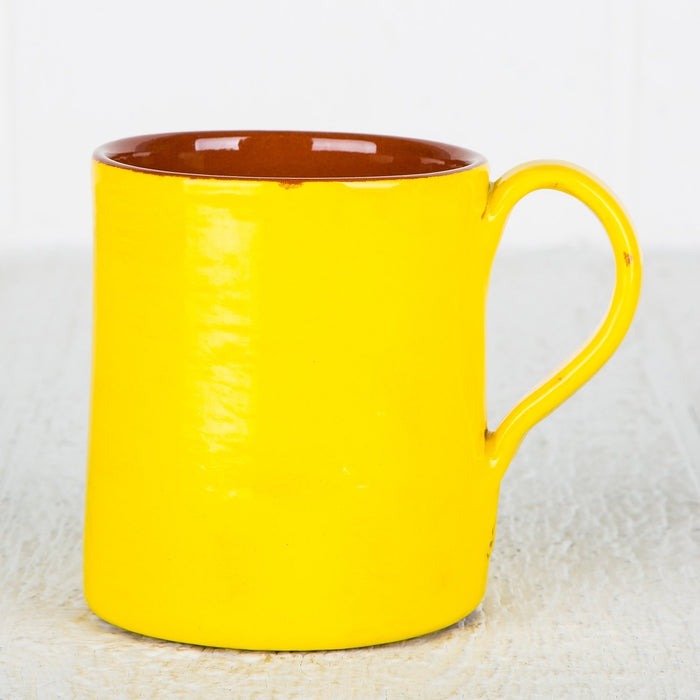 Handmade Yellow Coffee Mug