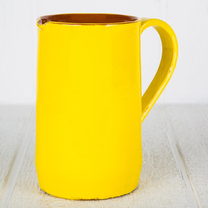 Handmade Yellow Pitcher (Large)