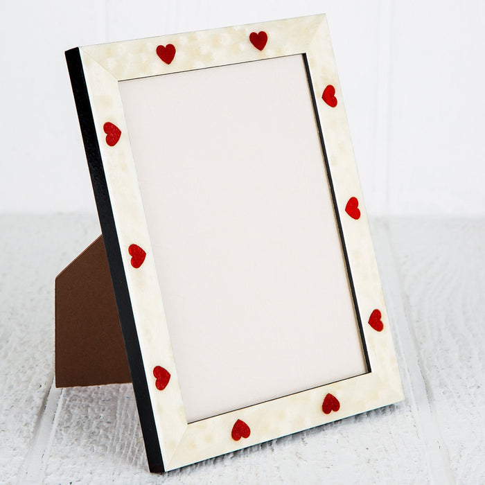 "Hearts Picture Frame (4x6"")"