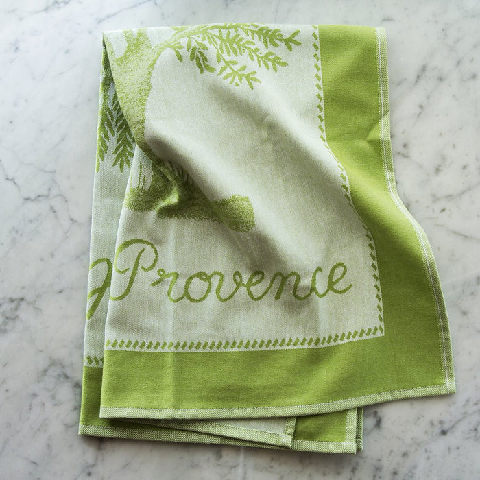 Huile d'Olive Surfine 100% Cotton Jacquard Tea Towel