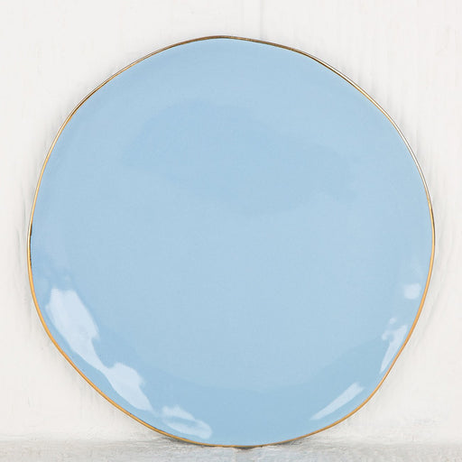 Imperfect blue Plate