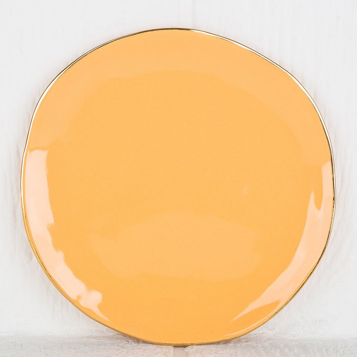 Imperfect Orange Plate
