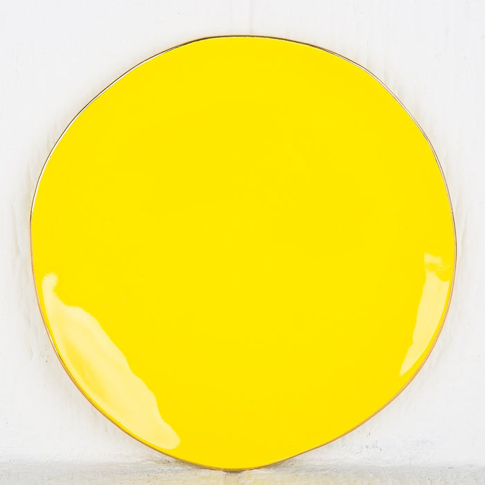 Imperfect Yellow Plate