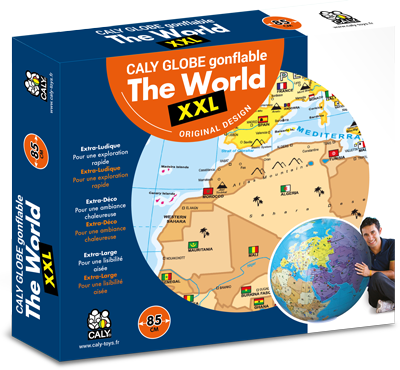 "Inflatable Globe- The World XXL (33.5"")"