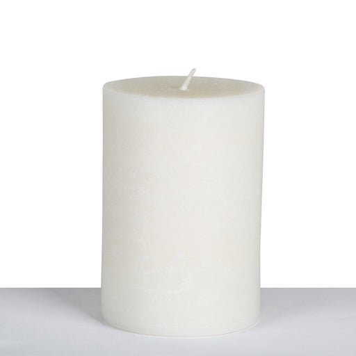 Ivory (34hr) Pillar Candle