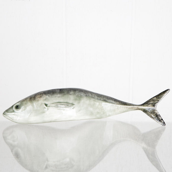 Jack Mackerel Earthenware Fish