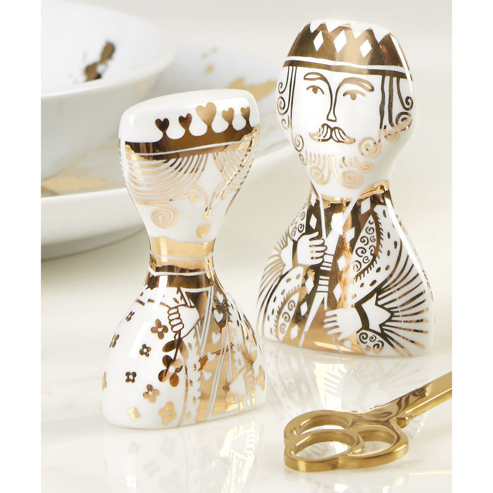 Jonathan Adler King & Queen Salt and Pepper Shakers