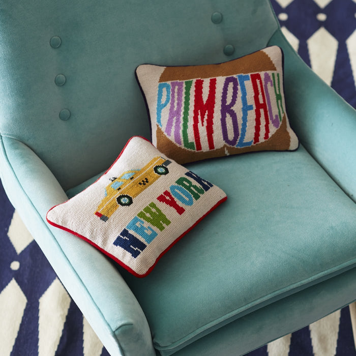 Jonathan Adler Palm Beach Throw Pillow
