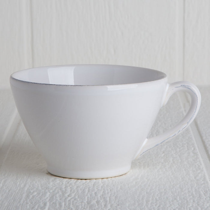 Jumbo White Coffee Cup